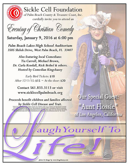 Laugh Yourself to Life @ Palm Beach Lakes High School Auditorium | West Palm Beach | Florida | United States