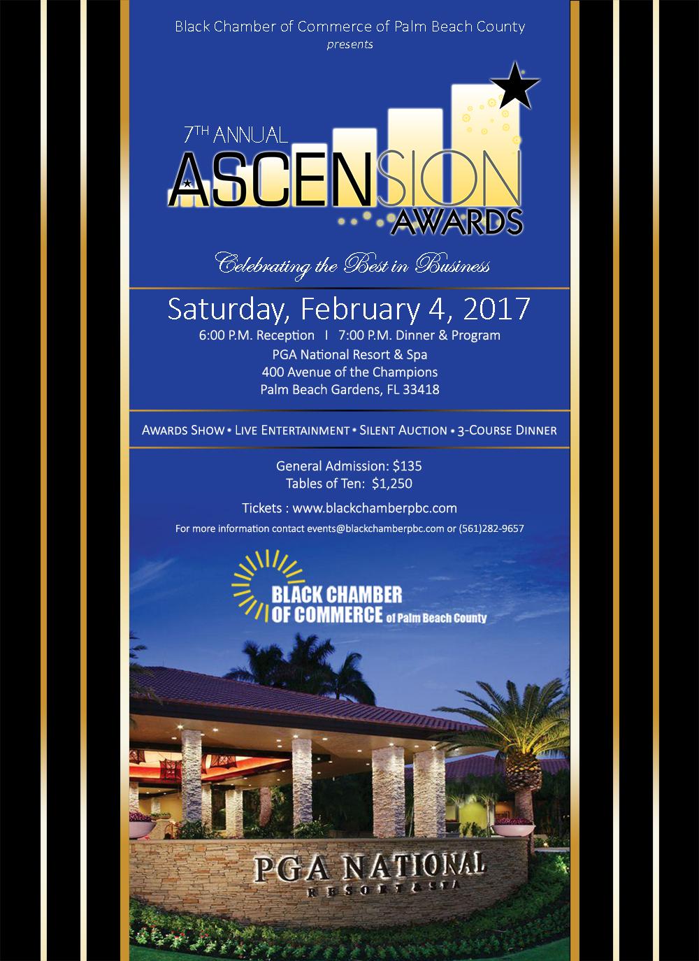 7th Annual Ascension Awards @ PGA National Resort & Spa | Palm Beach Gardens | Florida | United States