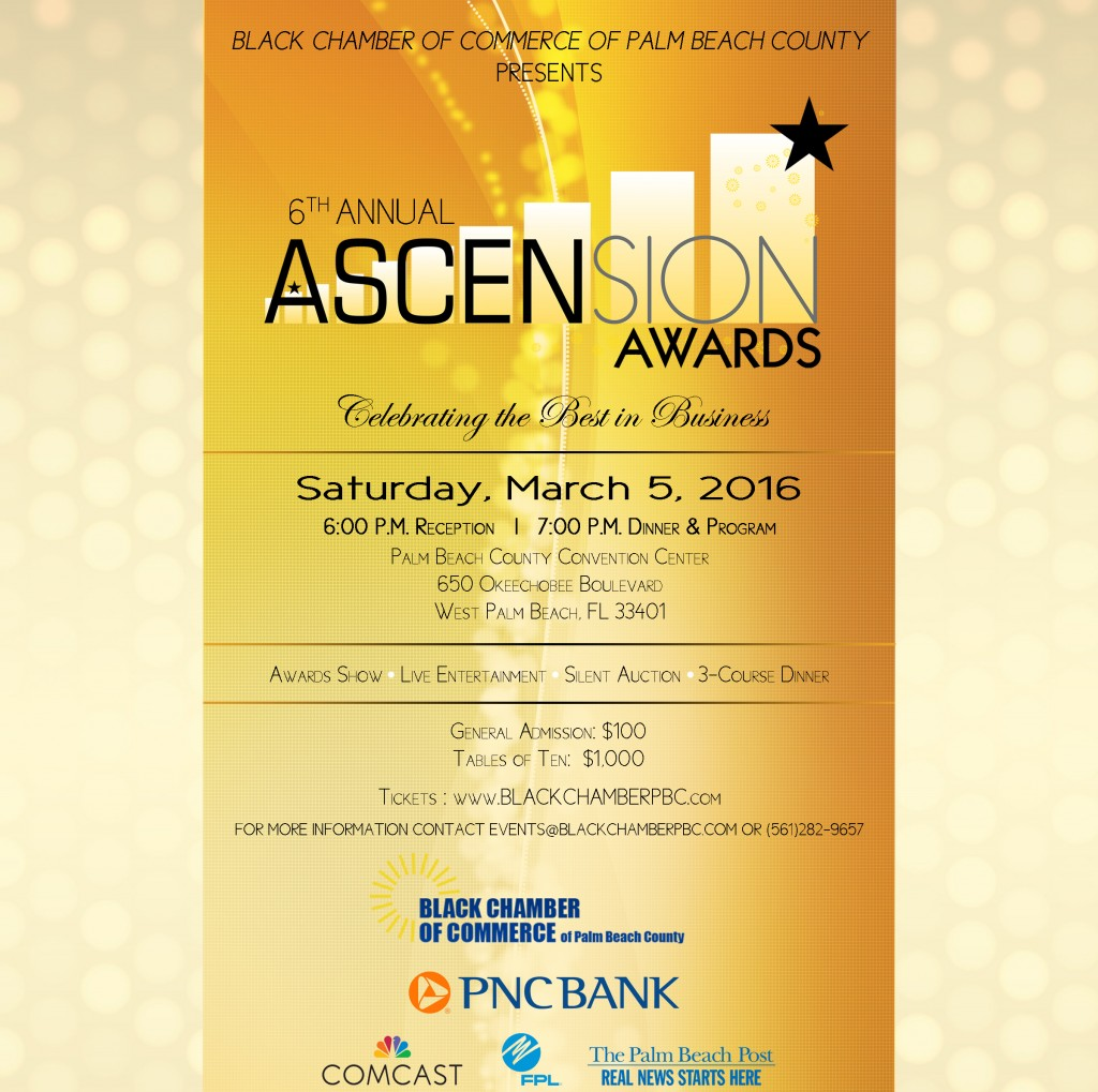 6th Annual Ascension Awards Program @ Palm Beach County Convention Center | West Palm Beach | Florida | United States