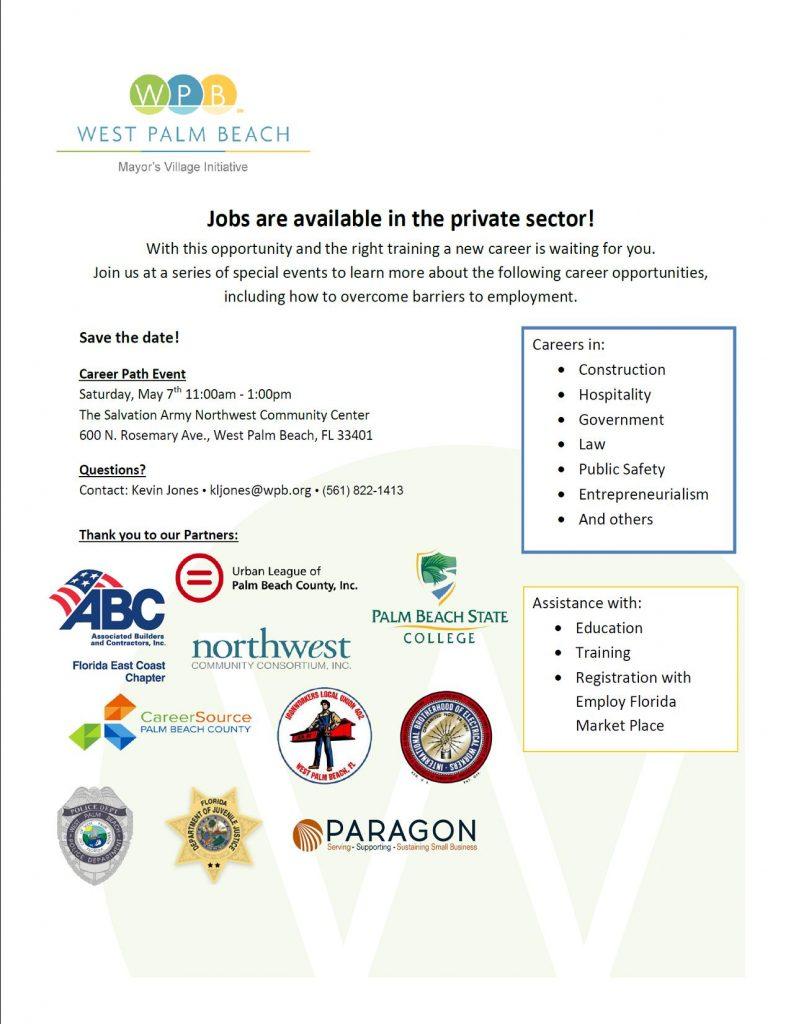 Mayor's Village Initiative, West Palm Beach @ Salvation Army Northwest Community Center   West Palm Beach   Florida   United States