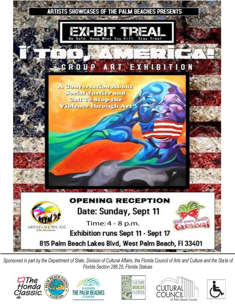 I, TOO AMERICA Art Exhibit @ Historic Jenkins House | West Palm Beach | Florida | United States