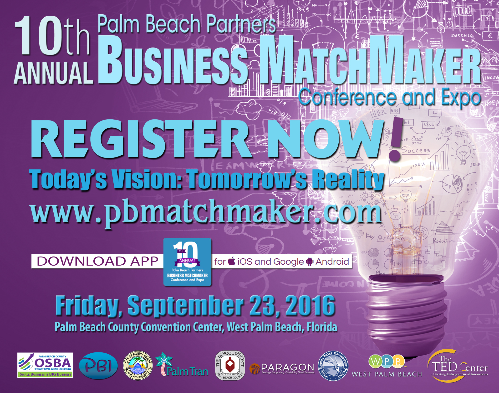 10th Annual Business MatchMaker Conference and Expo @ Palm Beach County Convention Center | Hialeah | Florida | United States