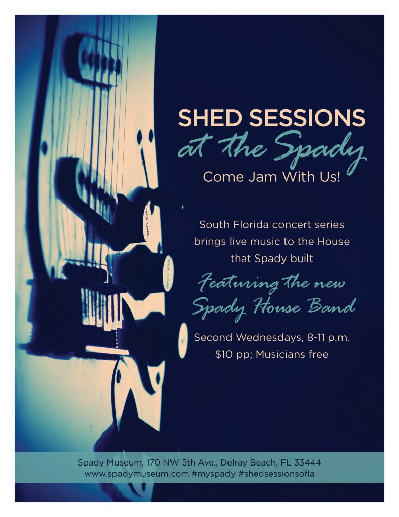 Shed Sessions at the Spady @ Spady Cultural Heritage Museum | Delray Beach | Florida | United States