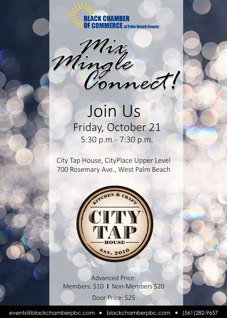 Mix Mingle Connect Networking Mixer @ City Tap House @ CityPlace | West Palm Beach | Florida | United States