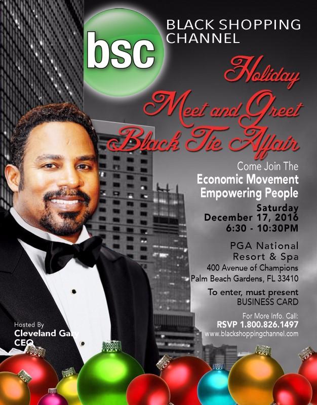 Black Shopping Channel Channel Holiday Meet & Greet @ PGA National Resort & Spa | Palm Beach Gardens | Florida | United States